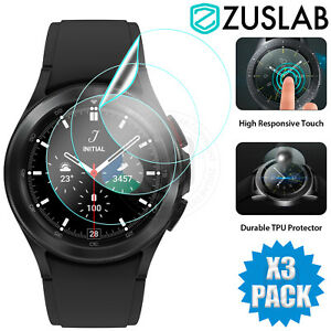 For Samsung Galaxy Watch 4 Classic 40mm 42mm 44mm 46mm Full Screen Protector X3
