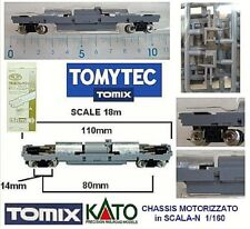 TOMIX TM-06 MOTORIZED CHASSIS TELAIO MOTORIZZATO 8 WHEEL-DRIVE CM.11Lung SCALA-N