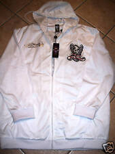 ED HARDY HOODY SWEATSHIRT JACKET LOS ANGELES MENS 2XL