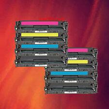 8 Color Toner C K M Y for HP LaserJet CP1215 CM1312 MFP