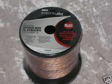 RCA 50 ft. Speaker Wire 16 Gauge Tuner Music NEW!
