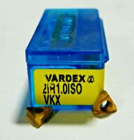 H679 10 PIECES VARDEX 2IR 1.0ISO VKX CARBIDE INSERTS