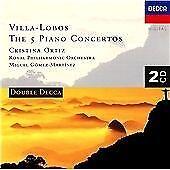 Heitor Villa-Lobos - : The 5 Piano Concertos (1997)