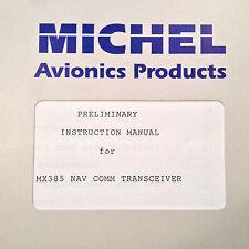 TKM Michel MX-385 Nav Com Service Manual