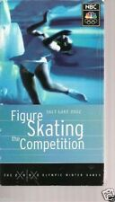 NBC Sports' Salt Lake 2002 Olympic Figure Skating - The Competition (VHS, 2002)