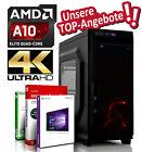 GAMING PC AMD A10-9700 4x3.8 GHz   16GB DDR4   256 GB SSD   R7   Win 10 Computer