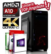 Desktop PC AMD A10-9700 4x3.8GHz | 8GB DDR4 | 500GB | Radeon R7 | Windows 10 PRO