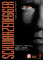 Schwarzenegger - Total Recall/Rouge Chaleur/Brut Affaire/Rouge Sonja DVD Neuf (