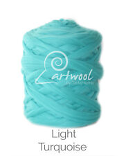 Light Turquoise  -  1 kg 100% Merino Wool Giant Chunky Yarn Arm Knitting