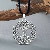 Yggdrasil Tree of Life Pendant Necklace Ash World Tree Viking Scandinavian Gift