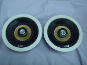 B&W Bowers and Wilking CCM50 Ceiling Speakers (pair)