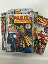 Warlock and the Infinity Watch 1 2 3 4 5 6 7 8 9 10, 11-15, 17, 19, 20-23, 34-37