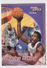 1999/00 SKYBOX APEX CHARLES OAKLEY TORONTO RAPTORS XTRA 20/50 CARD #11X