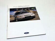 2000 Ford Mondeo Brochure - German Market