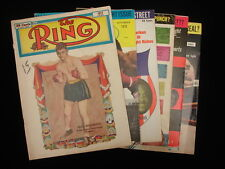 Lot of 6 The Ring Boxing Magazines – 1950, 67, 68, 71, 73, 76
