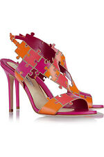 BRIAN ATWOOD Sommer Color Block Leather Sandals EU40 UK7 US10 NEW NWB REDUCED