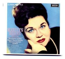 MARILYN HORNE RECITAL. DECCA 475 395-2. 2004, DIGIPAK CD NEW SEALED.