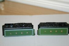 HORNBY MADE IN MARGATE 4-6-2 CLASS A1/A3 LNER GREEN CORRIDOR TENDER TOPS X2