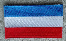 YUGOSLAVIA FLAG PATCH Embroidered Badge Iron Sew 4.5x6cm Jugoslavija Југославија
