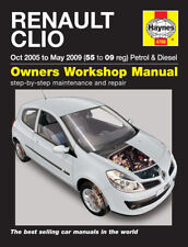 4788 Haynes Renault Clio (Oct 2005 - May 2009) 55 - 09 Workshop Manual