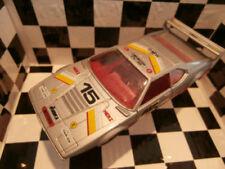Voitures de courses miniatures gris BMW