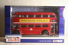 Corgi CC25910 0985 of only 2000 -Routemaster Route 11 'Liverpool St Station' MIB