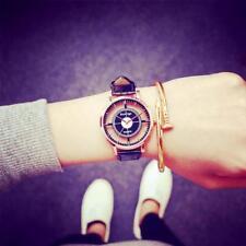New Fashion Womens Leather Dial Quartz Wrist Watch Ladies Casual Dress Watches