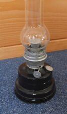 Petroleumlampe Ditmar Favorit 15''' Zentralzugbrenner mit Glas wie Blitzlampe
