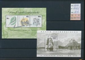 LN91172 Iceland 1998 ships artefacts sheets MNH cv 22 EUR