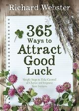 365 Ways to Attract Good Luck Guide Book ~ Wiccan Pagan Supply