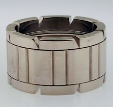 New 750 18K Genuine Cartier Tank Francaise 11mm Band Ring Size 5.25 US or 50 EUR