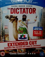The Dictator (Extended Cut) Blu-Ray/DVD Combo 2012 New And Sealed