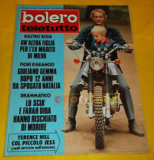 BOLERO FILM 1973 n. 1380 Terence Hill, Stefania Sandrelli, Guliano Gemmma