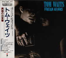 TOM WAITS Foreign Affairs FIRST JAPAN CD OBI WPCP-3586 Bette Midler