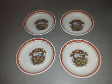 """Lot Of 4 Himark Le Colline Toscane Deep Pasta Serving Bowls 8"""" Made In Italy"""