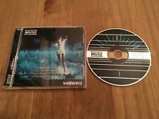 MUSE SHOWBIZ USA GOLD STAMPED PROMO  RELEASE CD ** EXCELLENT CONDITION** RARE **