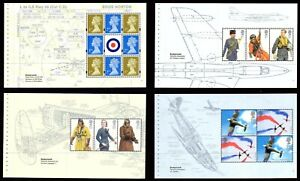 Choose ONE OR MORE MNH DX42 RAF UNIFORMS Prestige Booklet  Individual Pane 2008