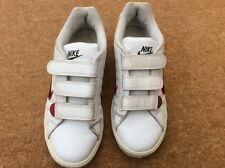 Womens or Girls Nike Sports Trainers Size 5 White Leather