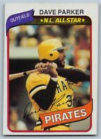 1980  DAVE PARKER - Topps Baseball Card # 310 - PITTSBURGH PIRATES