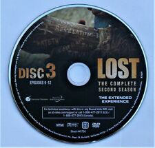 LOST (TV show) SEASON 2 DISC 3 REPLACEMENT DVD DISC ONLY