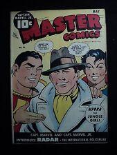 Master Comics 50 (cover & c-fold det. w/ sm PO at spine) FAWCETT comic id# 15194