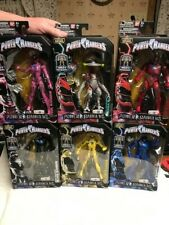 Legacy Collection Power Rangers 2017 Movie Toys R Us Exclusive Full Set of 6 Lot