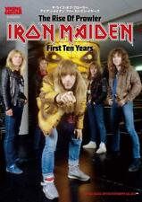 """NEW""  The Rise of Prowler IRON MAIDEN First Ten Years 
