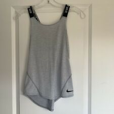 Nike Girls Grey Sports Vest - Age 10-12 Years - Excellent Condition