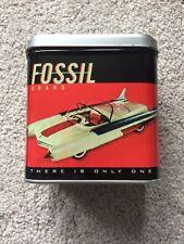 Fossil Watch Retro Tin Storage