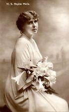 M.S REGINA MARIA - QUEEN OF ROMANIA c1920 ROYALTY POSTCARD
