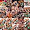 925 Silver Moonstone Turquoise Amethyst Ear Stud Hook Dangle Earrings Jewelry