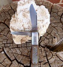 RARE VINTAGE ULSTER OLD TIMER BARLOW FOLDING POCKET KNIFE MADE IN USA NO RESERVE