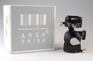 Arca-Swiss d4m Tripod Head with a Classic Knob Quick Release (Manual)
