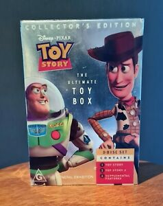 Toy Story The Ultimate Toy Box Collectors 3 Disc DVD Set